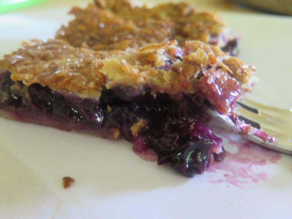 Slice of Concord Grape Pie | Jessie Sheehan Bakes