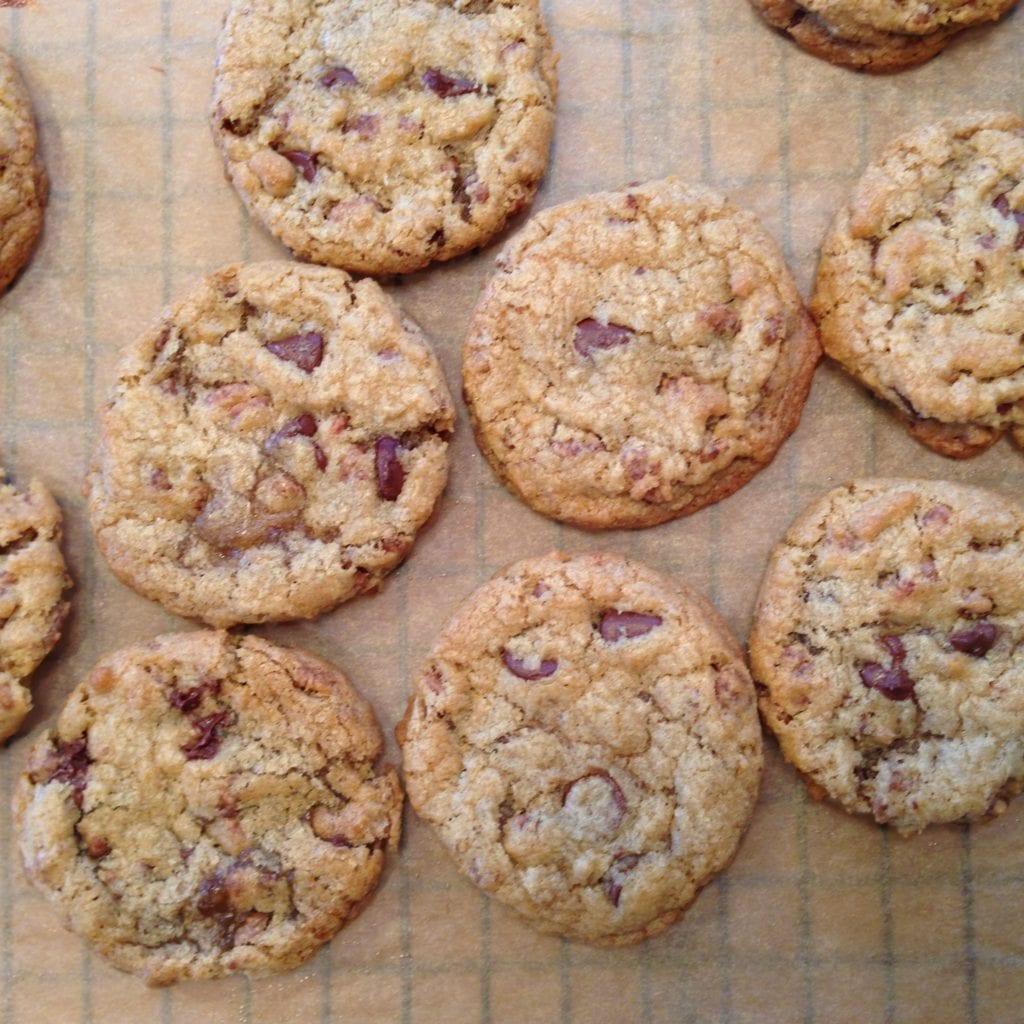 jumbo chewy chocolate chip cookies – Jessie Sheehan Bakes