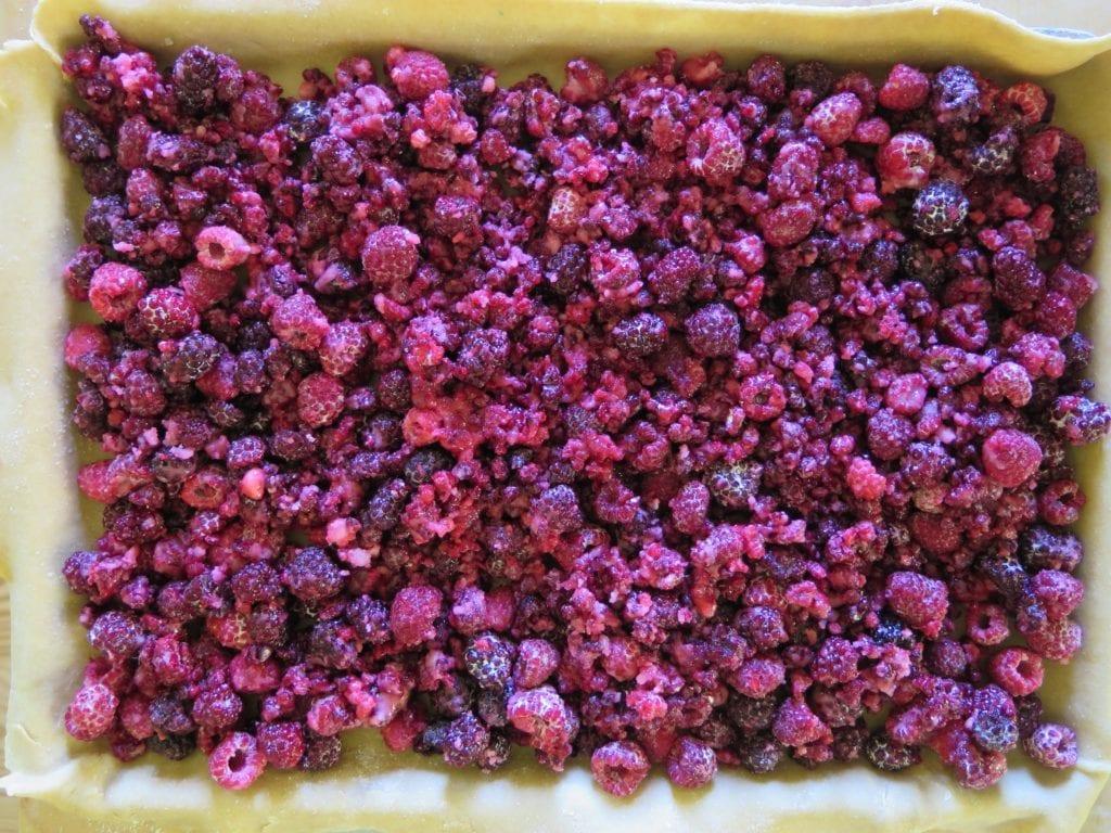 Black and Red Raspberry Slab Pie   Jessie Sheehan Bakes