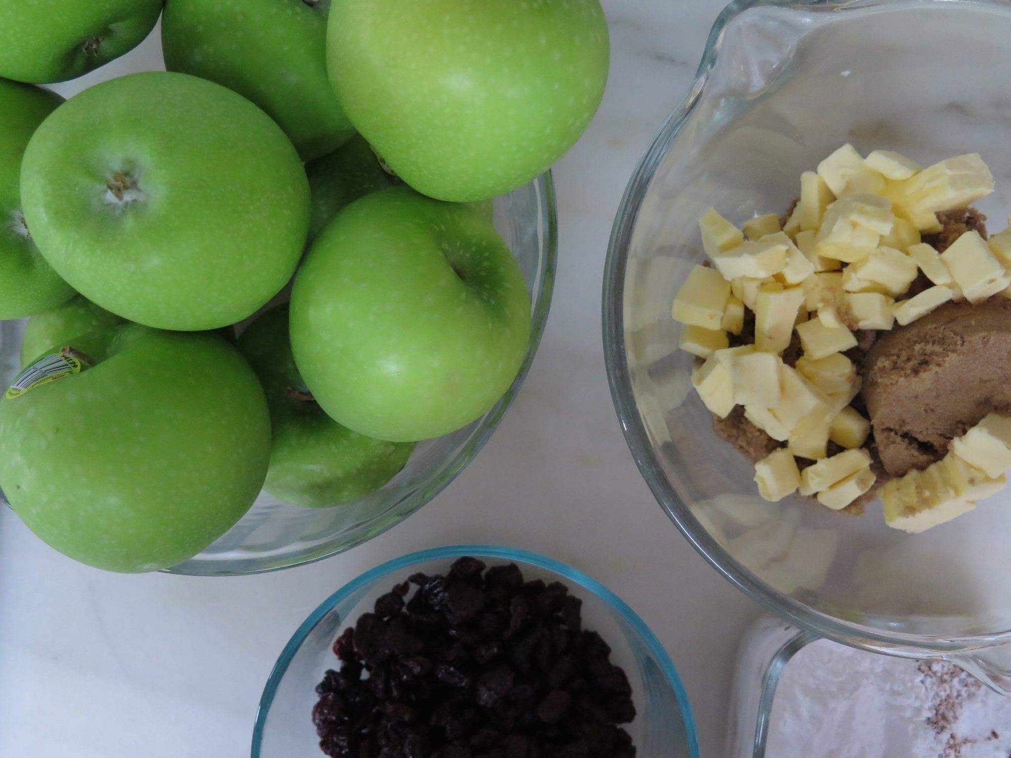 Apples, Cherries and Pie Crumble   Jessie Sheehan Bakes