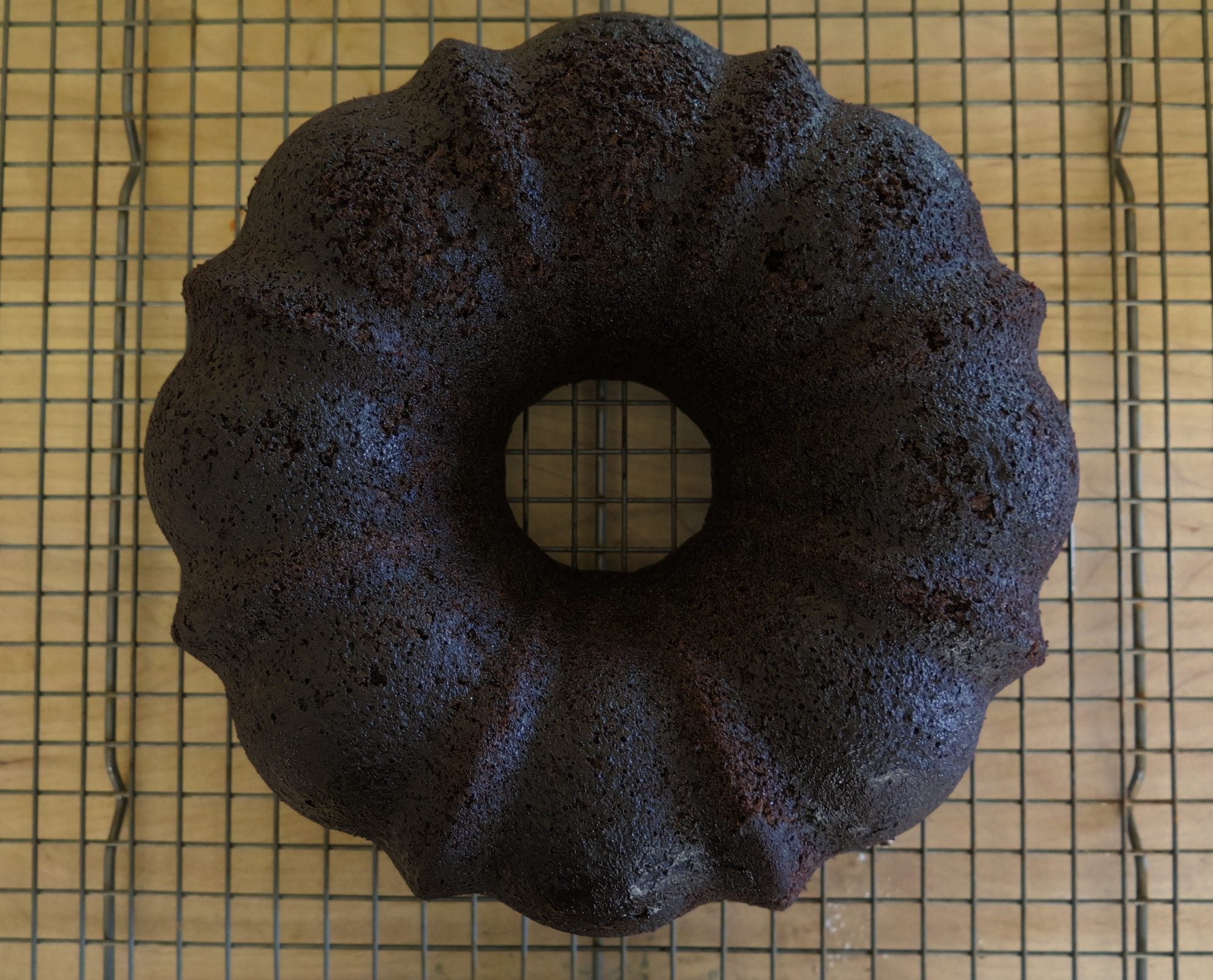 carrot chocolate bundt cake