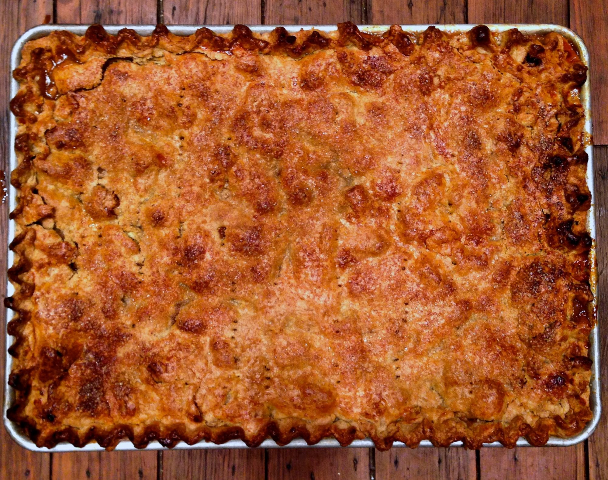 apple sour cherry slab pie – Jessie Sheehan Bakes
