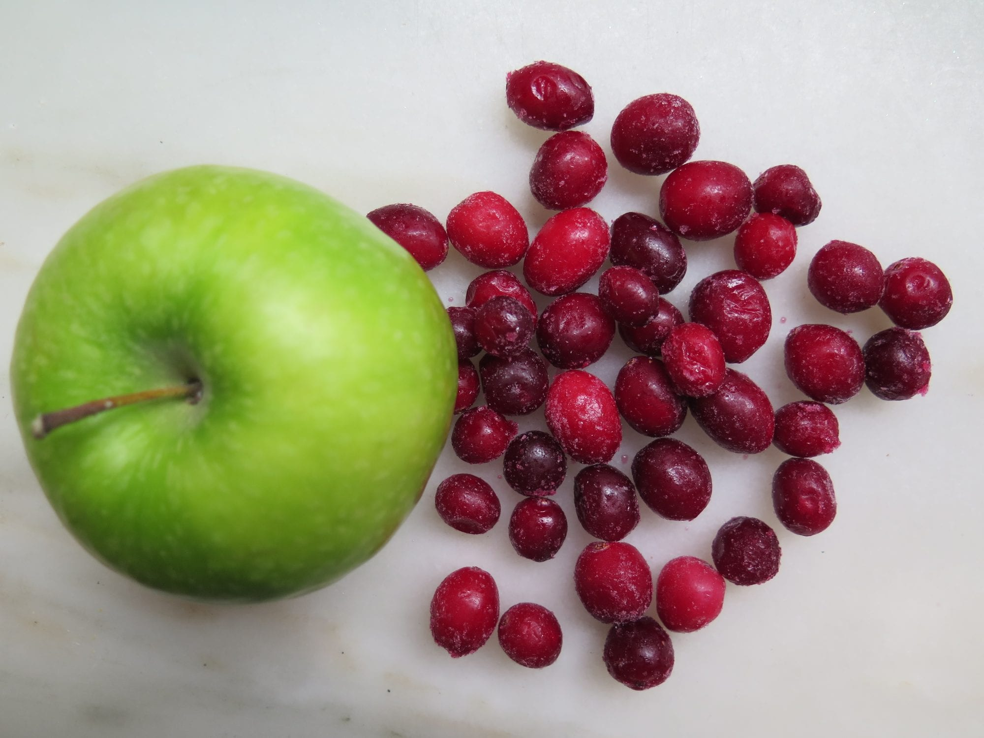 Green Apple and Cranberries | Jessie Sheehan Bakes