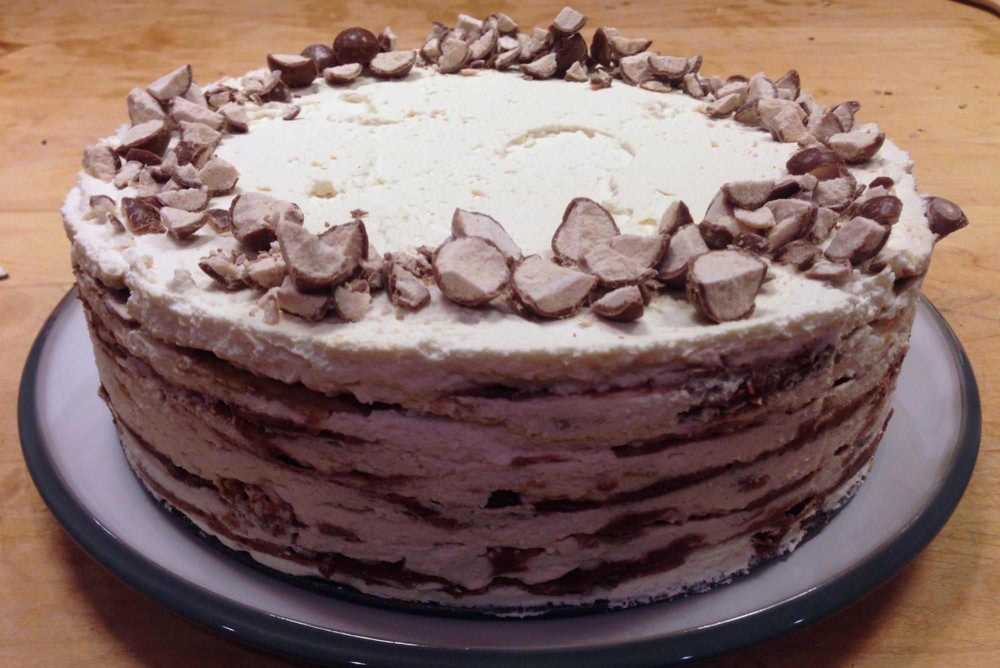Icebox Malt Cake   Jessie Sheehan Bakes