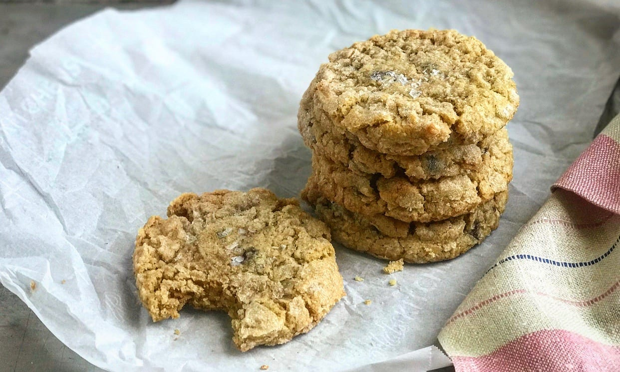 Peanut Butter Chocolate Chip Cookies Recipe | Jessie Sheehan Bakes