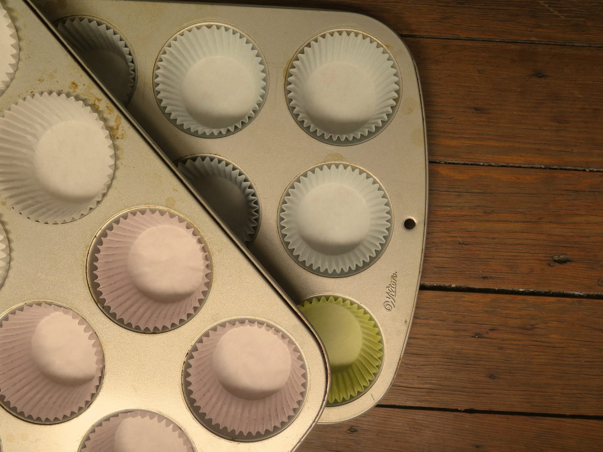 Muffin Tin With Cupcake Liners | Jessie Sheehan Bakes
