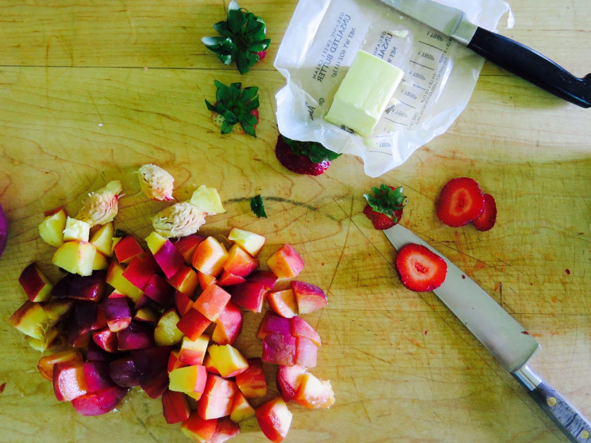 Peach and Strawberry Shortcakes Recipe   Jessie Sheehan Bakes