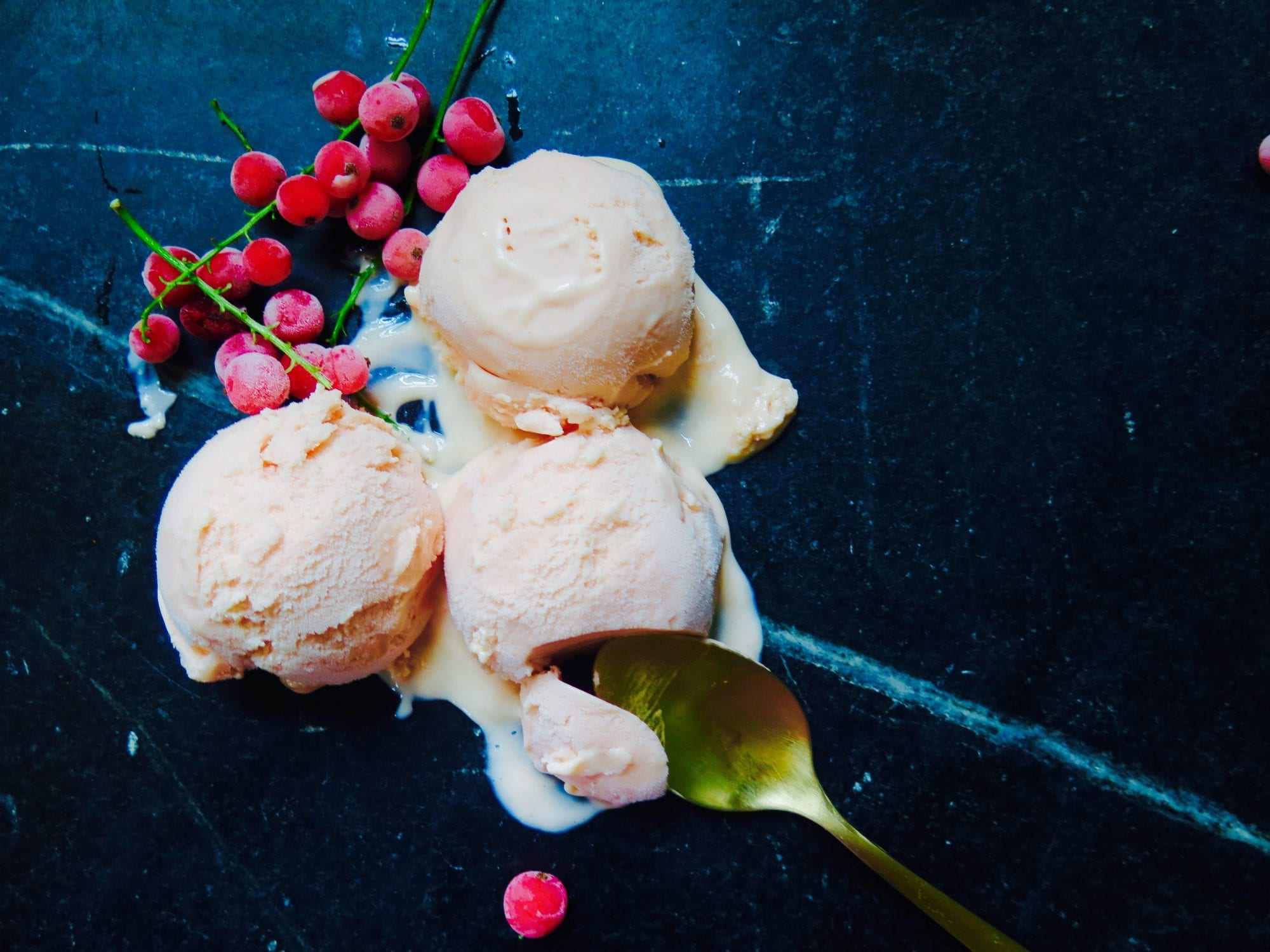 Red Currant Ice Cream Recipe | Jessie Sheehan Bakes