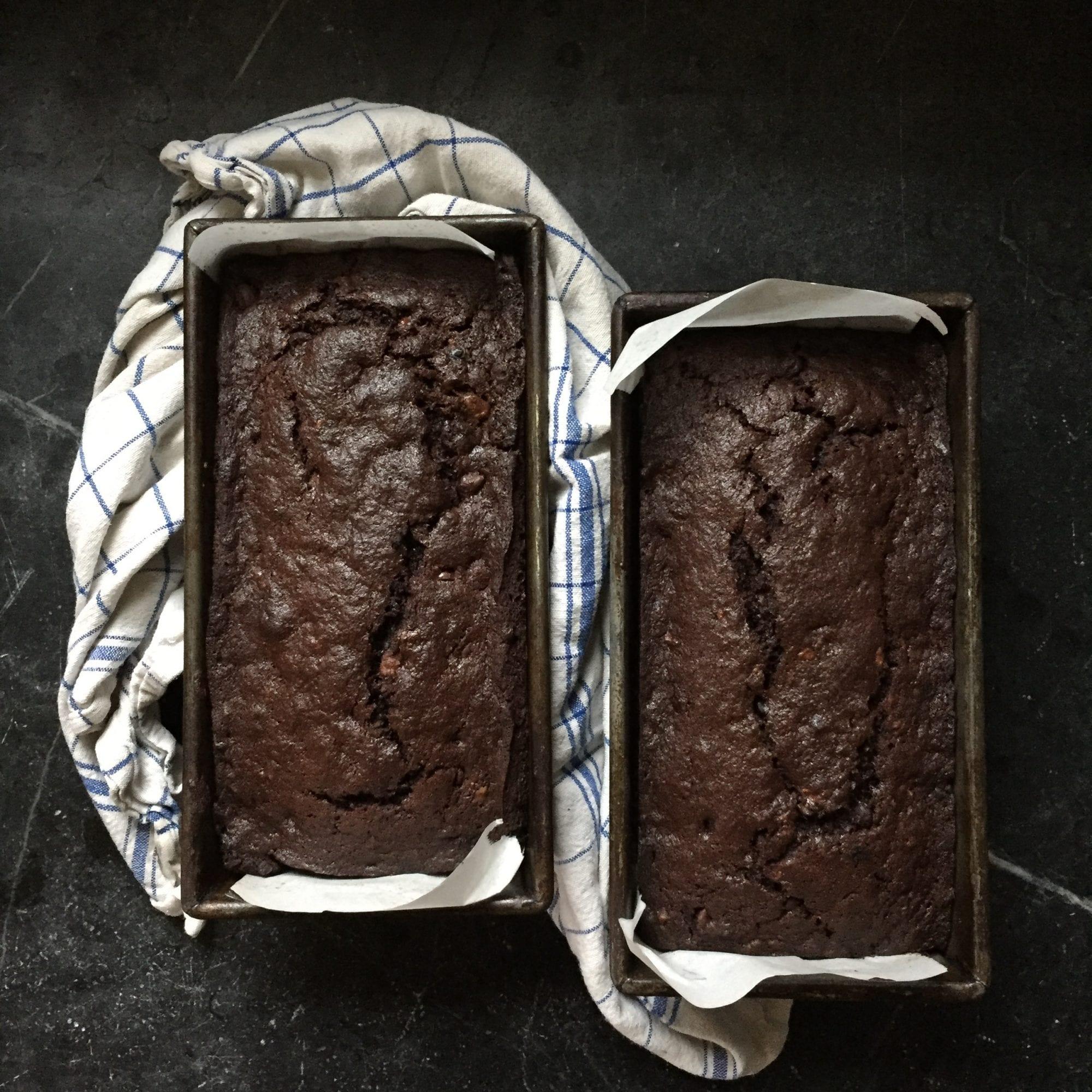 Chocolate Banana Bread Pudding Recipe | Jessie Sheehan Bakes