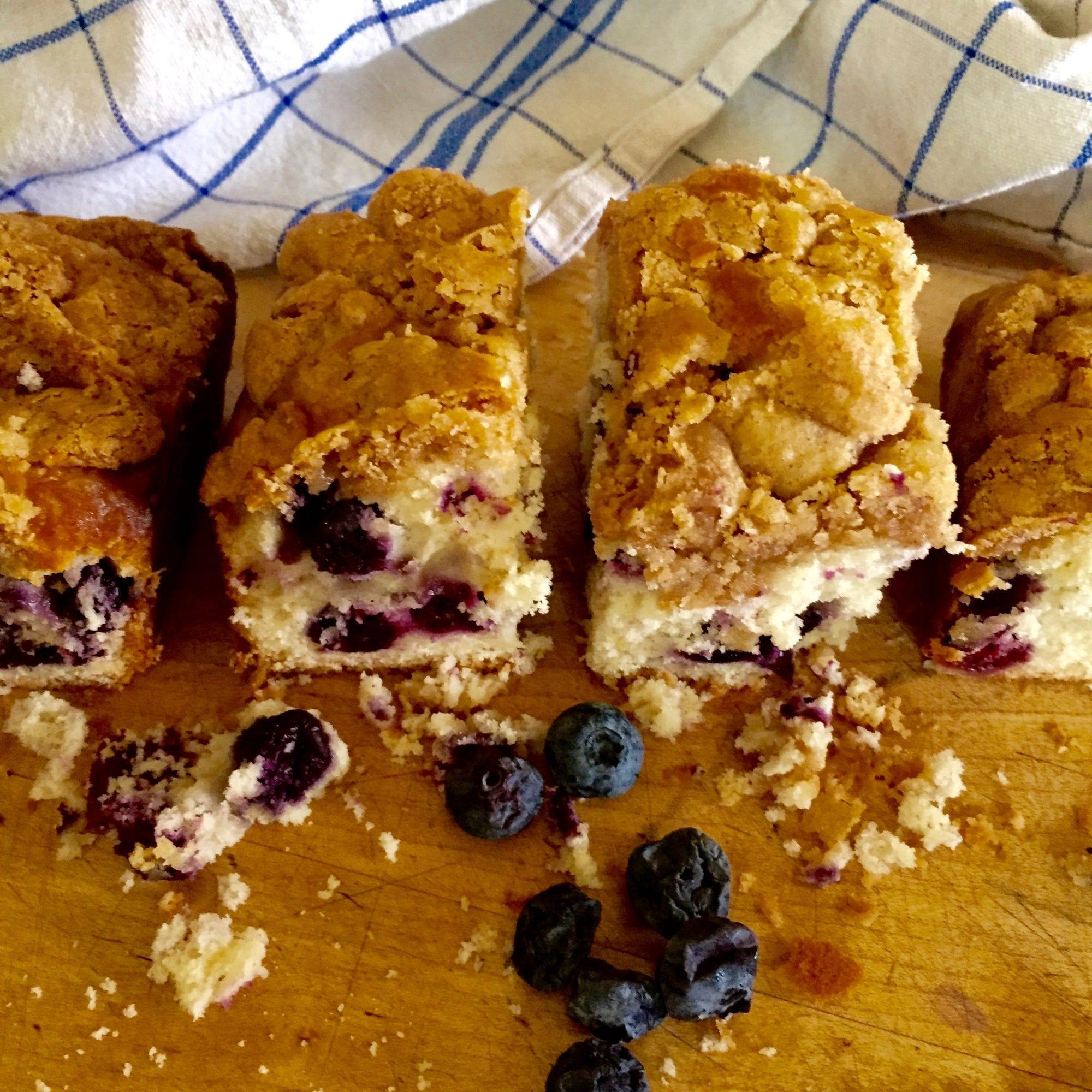 Blueberry Buttermilk Snack Cake Recipe | Jessie Sheehan Bakes
