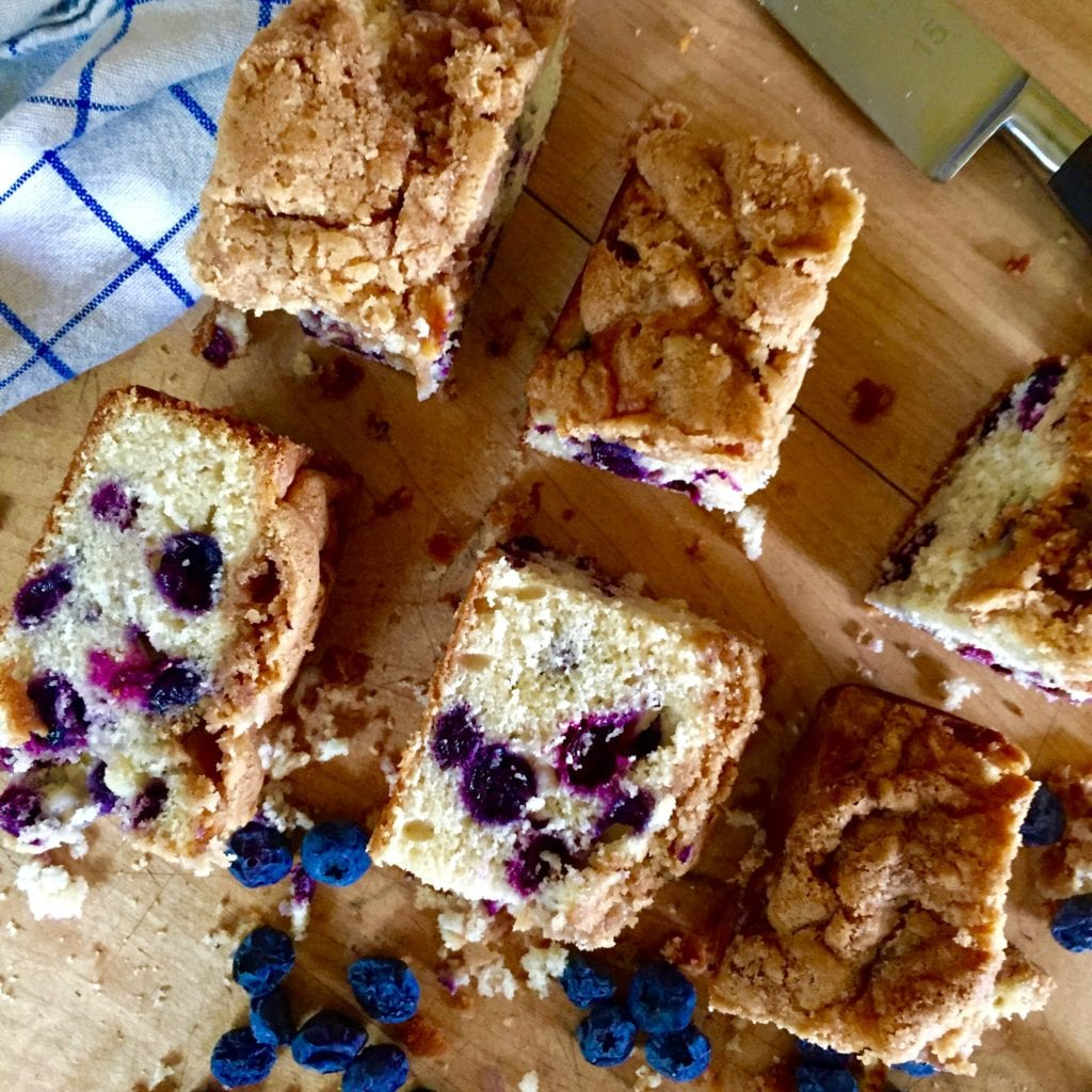 Blueberry Buttermilk Snacking Cake | Jessie Sheehan Bakes
