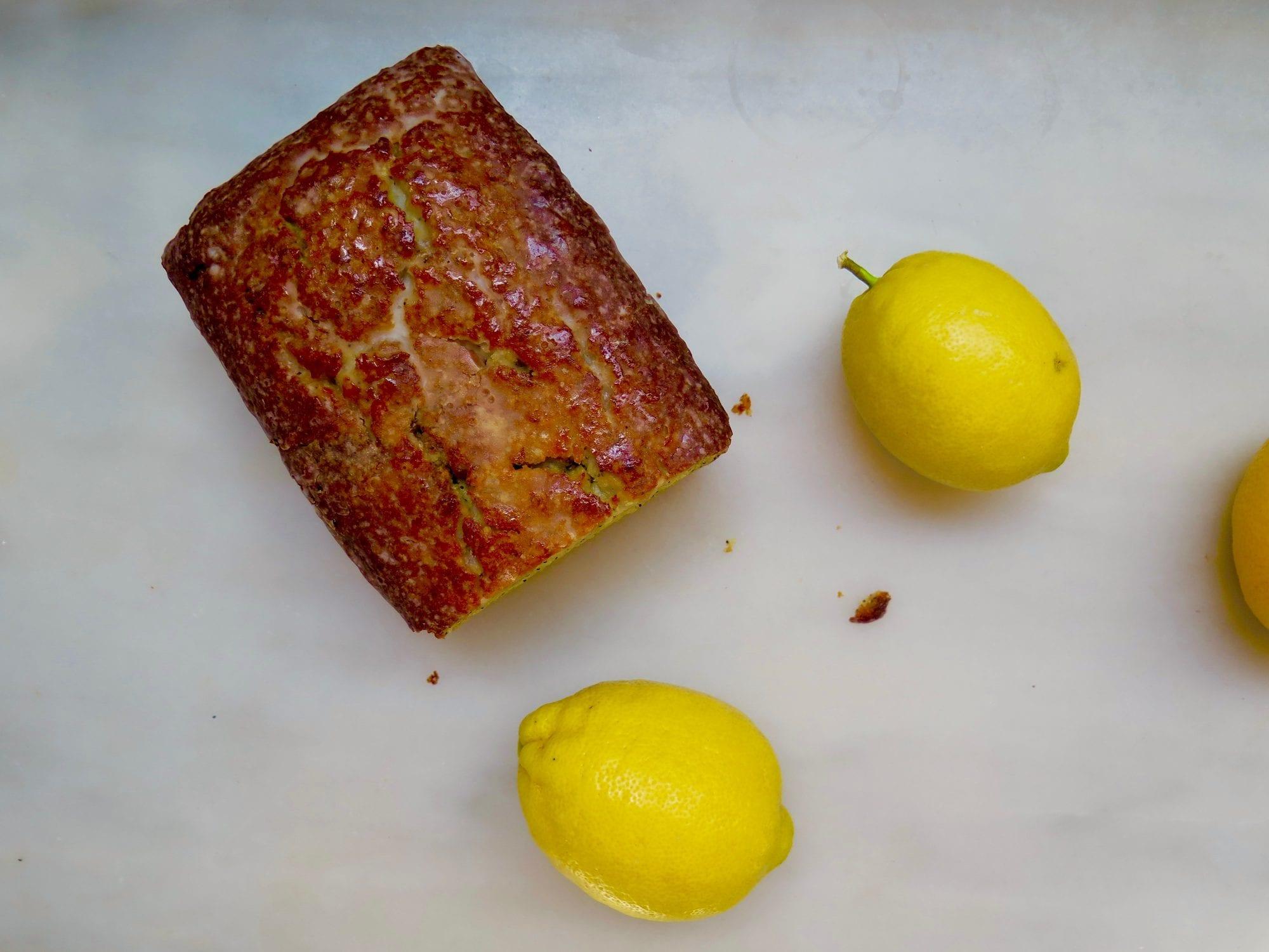Glazed Lemon Poppy Seed Cake | Jessie Sheehan Bakes