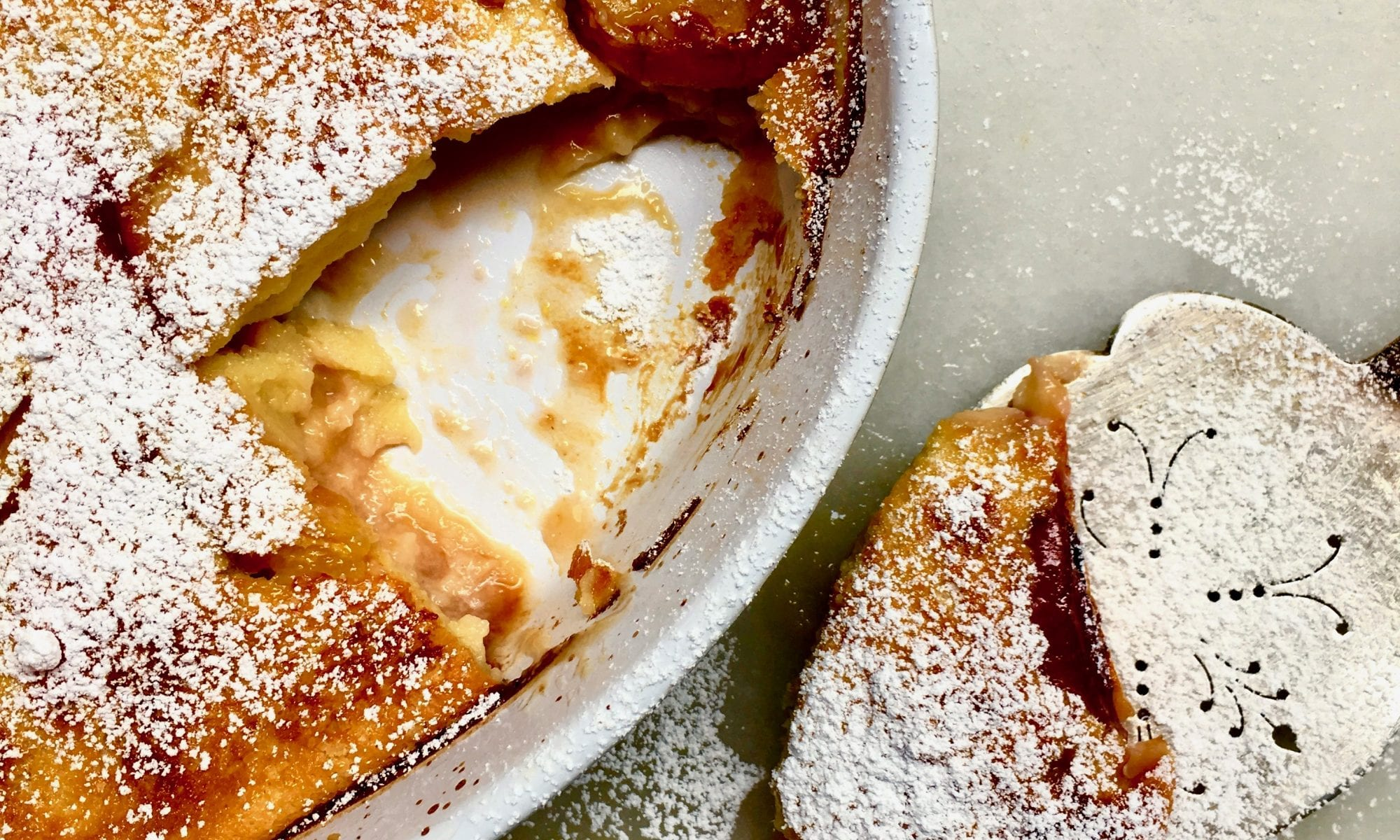 Peach Clafoutis Recipe | Jessie Sheehan Bakes