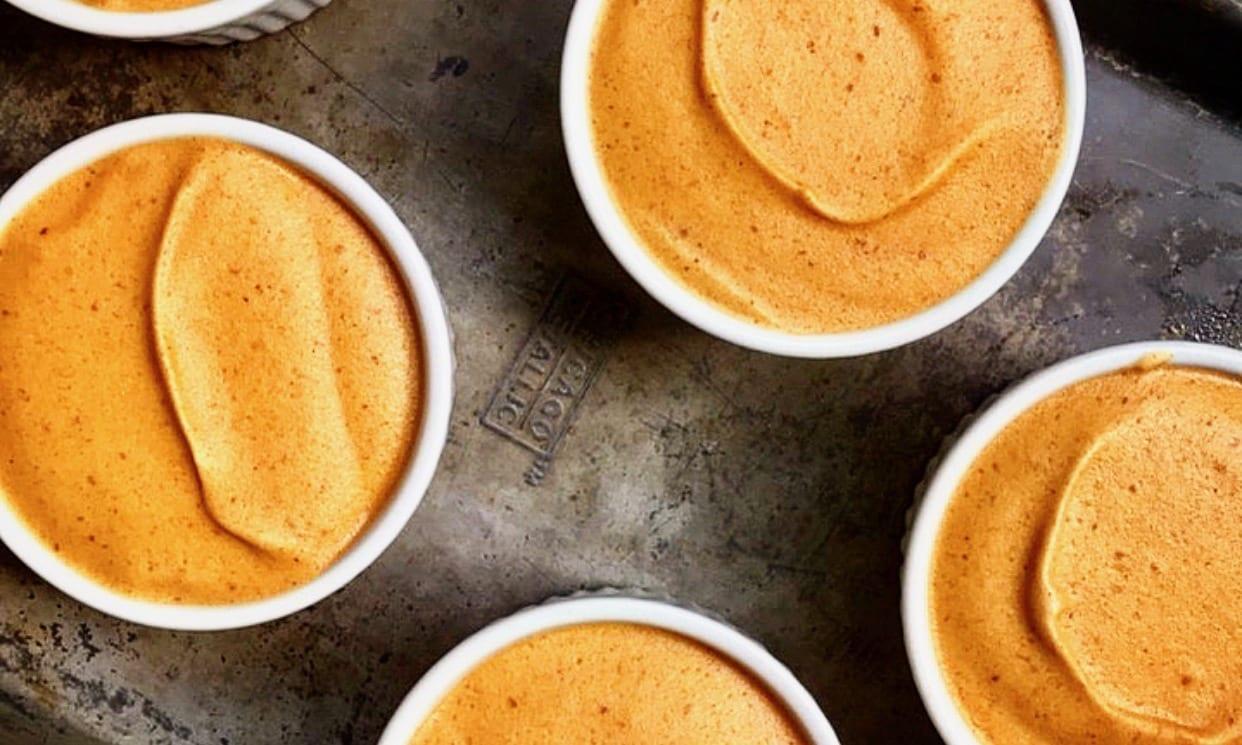 Pumpkin Mousse Recipe | Jessie Sheehan Bakes