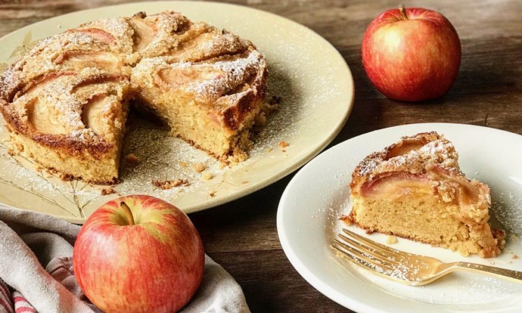 Apple Snack Cake Recipe | Jessie Sheehan Bakes