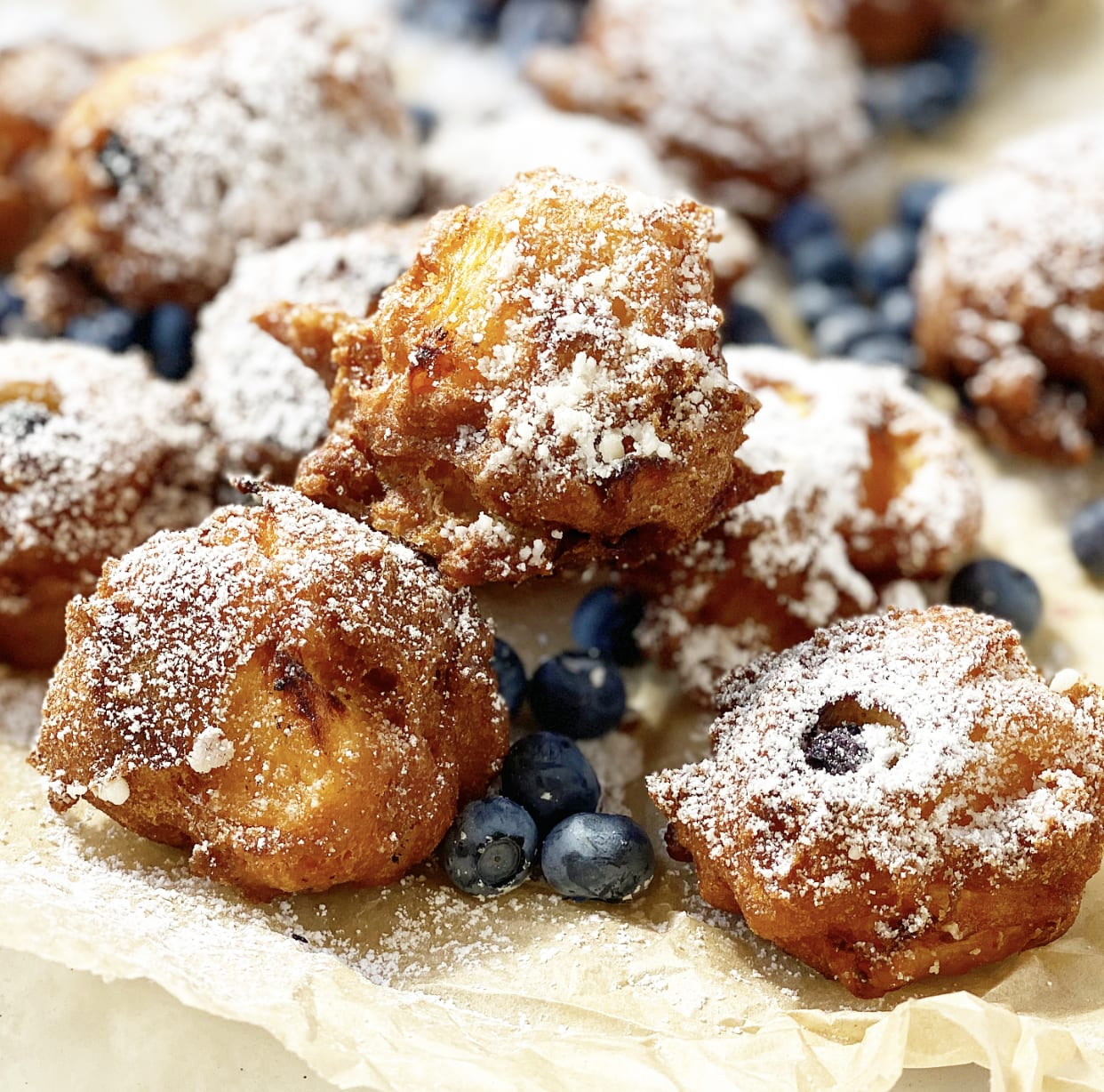 Any Fruit Fritters Recipe | Jessie Sheehan Bakes